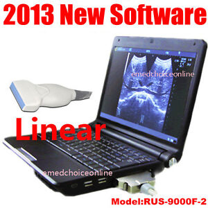 2013 Newest Full Digital Laptop Ultrasound Scanner Machine With Linear Probe