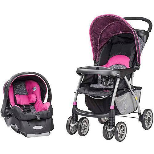 Pink Baby Carseat Strollers