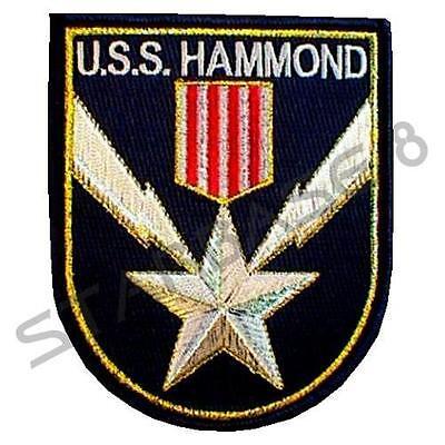 USS HAMMOND - Crew Aufnäher/Patch - STARGATE SG1 / ATLANTIS / UNIVERSE