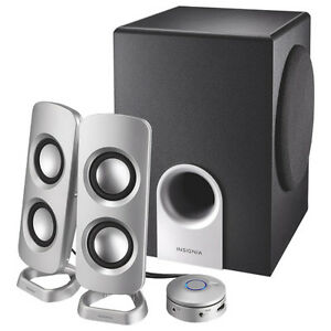 Insignia 2.1 Speaker System (NS-PSD5321-C), New in Box
