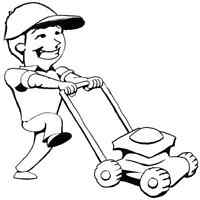 Lawn mowing service!