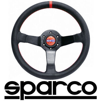 Sparco Champion Street Steering Wheel - 330mm Perforated Leather   015TCHMP