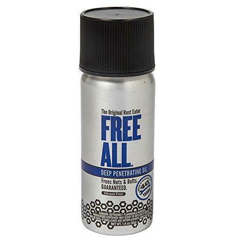 Gasoila - RE01 Free All Rust Eater Deep Penetrating Oil, 1.5 oz Aerosol Spray