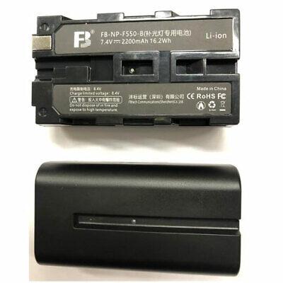 NP-F550 Batería Para Yongnuo YN300 YN900 YN1200 YN360 YN360S Luz sony Cámara