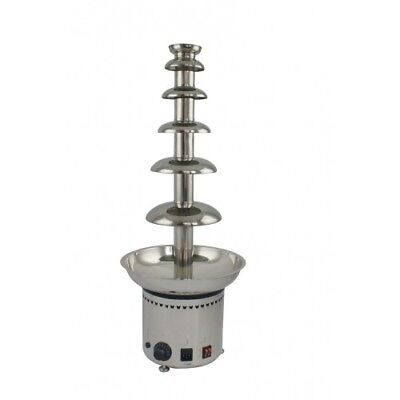 Chocolate fountain 6 tiers, H 820mm, stainless commercial chocolate fountains