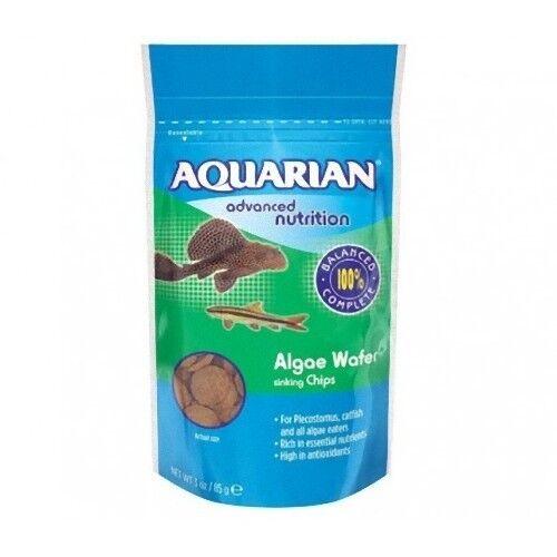 Aquarian Algae Wafer 255g for Catfish Tropical Fish Bottom Feeders