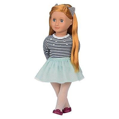 """New Our Generation Arlee 18"""" doll Red Hair Fits American Girl Fast Shipping"""