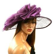 Purple Church Hat