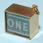 One Pound Note Charm
