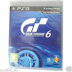 gran turismo 6 gt6 course jeux de voiture for sony playstation 3 ps3 gt ebay. Black Bedroom Furniture Sets. Home Design Ideas
