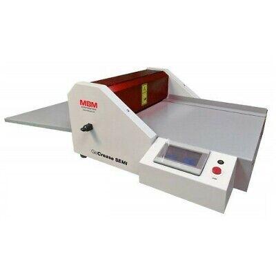 Mbm Gocrease Semi 17.7 Semi-automatic Programmable Creaser And Perforator