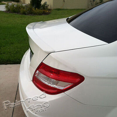 Stock in LA!Paint FOR Mercedes-Benz C Class W204 A Type Trunk Spoiler Color 650