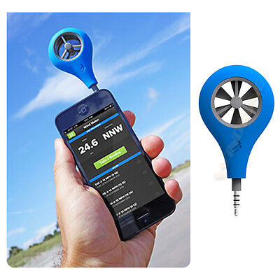 WeatherFlow Wind Meter for Cell Phone iPhone Android Anemometer Kiteboarding New