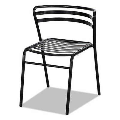 Safco Cogo Steel Outdoorindoor Stack Chair - 4360bl