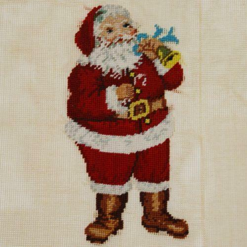 Needlepoint Christmas Pillow Ebay
