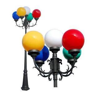 Outdoor globe lights ebay outdoor post light globes aloadofball Choice Image