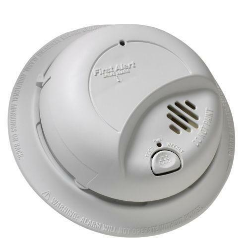 first alert smoke detector ebay. Black Bedroom Furniture Sets. Home Design Ideas