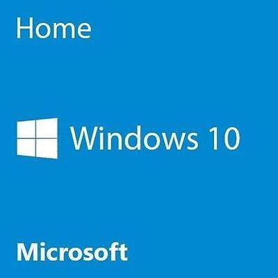 Microsoft Windows 10 Home 64 Bit System Builder OEM KW9-00140