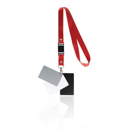 White Balance Card- 3 Card Digital Color Correction Tool 18 % Digital Gray Card