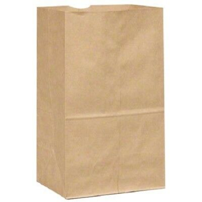 12 Ajm Kraft Paper Grocery Bags Ex-heavy 7 Wide 4.5 Deep 13 34 Tall 50pkg