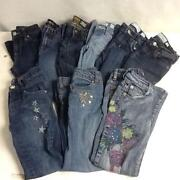 Girls Size 8 Jeans Lot
