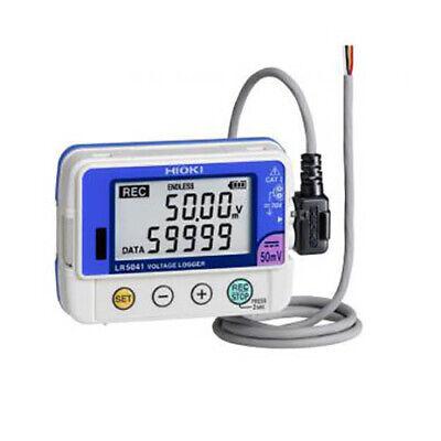 Hioki Lr5043-20 Single Channel Voltage Logger -50v Dc