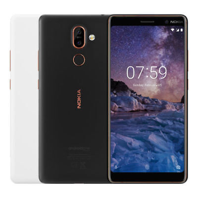 Nokia 7 Plus Ta 1062 Dual Sim 64Gb  Factory Unlocked  6 0  4Gb Ram Black White