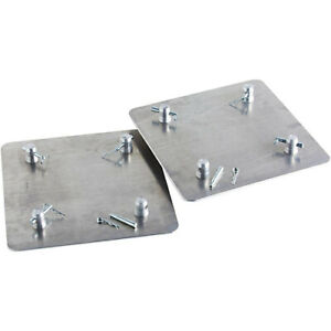 """SET OF 2 GLOBAL TRUSS 16"""" X 16""""  BASE / TOP plate FOR F 34 TRUSS"""
