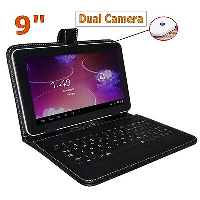 capacitive allwinner a13 dual camera android 4 0 tablet pc keyboard