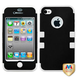 Tuff - Hybrid Cases for Apple iPhone 4 4S - Various Colors
