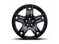 Range Rover Evoque 20inch Alloy Wheels Black Kahn RS600 Set of 4 Black