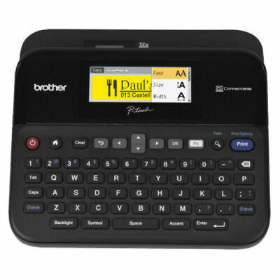Brother P-touch Label Maker Pc-connectable Labeler Ptd600 Color Display High-res