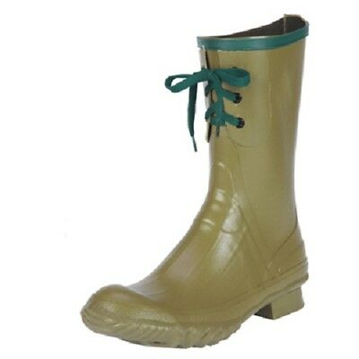 Men's Northerner/Servus #21802 Insulated 3-Eyelet Mid Pac olive rubber boot 3 Pac Boots