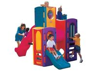 Brand new boxed little Tikes tropical playground play centre. Climbing frame.