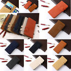 Matte Synthetic Leather Wallet Cases for iPhone 4