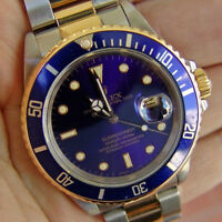 A Vendre_For Sale Rolex Submariner SS/18K 100% Authentique !!!