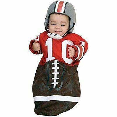 Football  Newborn Costume by Rubies](Newborn Football Costume)