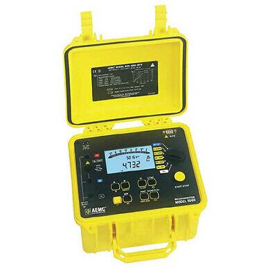 Aemc 5060 Megohmmeter Digital Analog Bargraph Backlight Alarm Timer