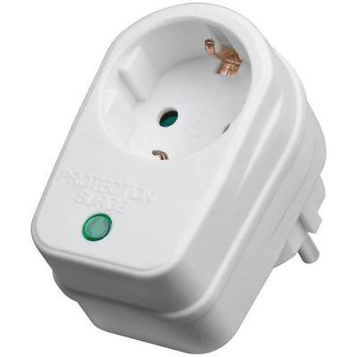Netz- und Überspannungsschutz Geräte Schutz Stecker für Steckdose Blitzschaden ()