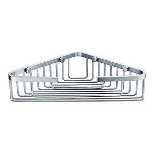 Bathroom accessories shower single corner wire basket for Basket bathroom accessories