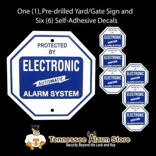 Adt Window Stickers Security Signs Amp Decals Ebay
