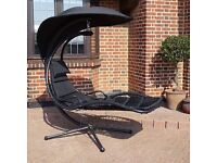 Helicopter chair steel grey