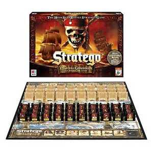 BOARD GAME - STRATEGO - PIRATES OF THE CARIBBEAN ed.