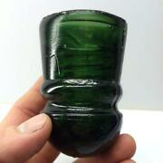 Green Glass Insulator