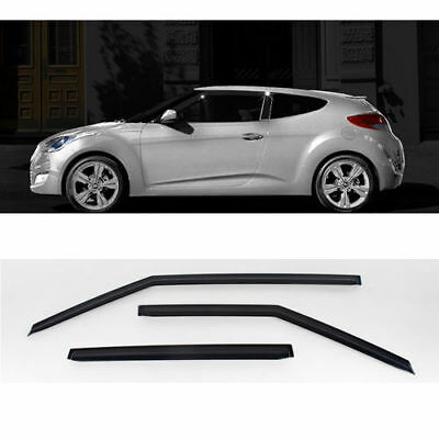 Sports Diffuser Plate Metal Hair-line Plate 2p For HYUNDAI 2011-2017 Veloster