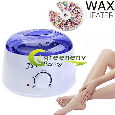 0.5L Salon Electric Wax Heater Portable 80W Facial Skin Spa Hair Removal Warmer