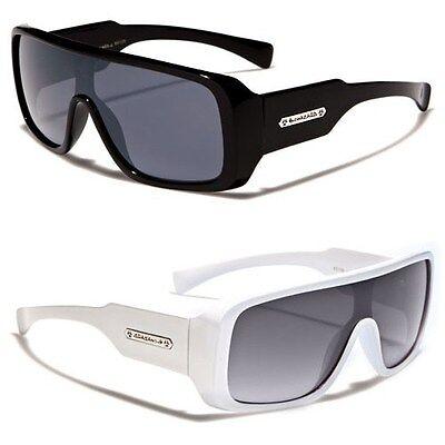 Biohazard Goggle Style Mens Designer Sunglasses Celebrity Shades (Mens Celebrity Fashion)