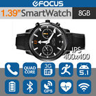 Leather Waterproof Smart Watches