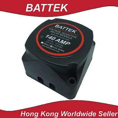 (Voltage Sensitive Relay Smart Battery Isolator 12V 140A Dual Sense Caravan Solar)