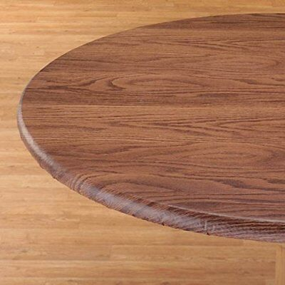 Скатерть NEW Violet Linen Woodgrain Elastic